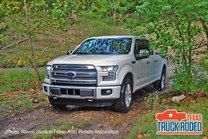 Award in top truck state is a big boost for Ford as it launches its aluminium 2015 F-series line in the US