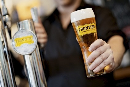 Fullers launched Frontier a year ago in the UK