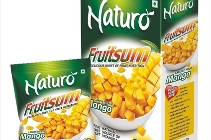 Naturo launches on the go fruit snack