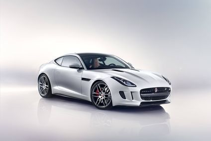 The F-Type Coupe's body sides are single-piece aluminium pressings, fabricated from high-strength and formable AC600 aluminium, which has also been used for structural reinforcement – both engineering firsts for Jaguar.