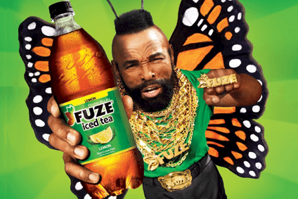 Coca-Cola Cos Fuze iced-tea campaign featured Mr T