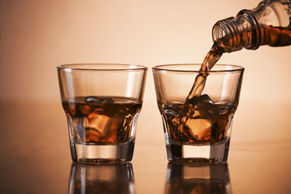 American whiskey is continuing to drive spirits growth in the US and globally