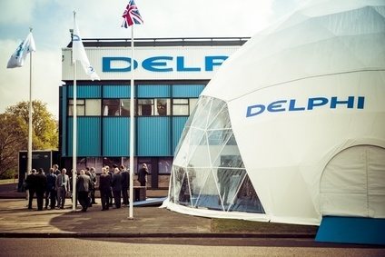 Delphi recently made it clear that it has a war chest for strategic acquisitions