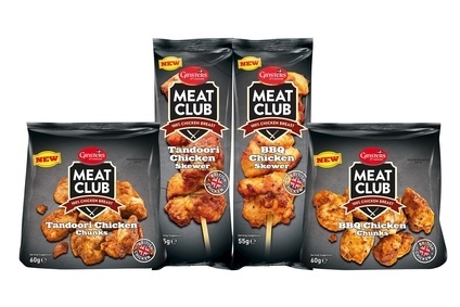 Ginsters has introduced a meat snacking range