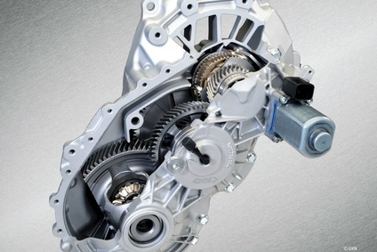 GKN eAxle is used in BMWs i8