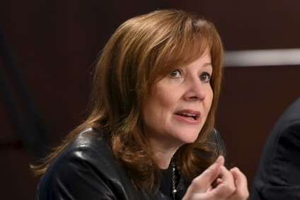 Mary Barra is upbeat on US market prospects