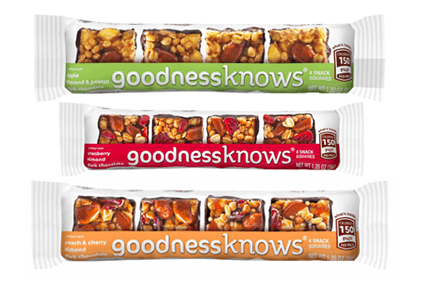 "Mars launches ""healthy"" snacks Goodnessknows"