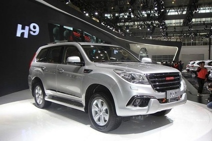 China Land Rover Amp Jeep Rival Haval Launches H9