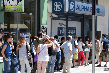 Greek spending power has been eroded and the summer saw temporary restrictions on cash