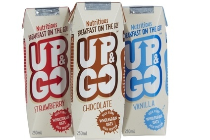 Up & Go breakfast drinks set for UK launch