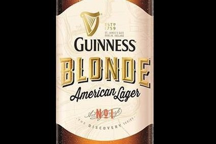 Guinness Blonde launches in the US next month