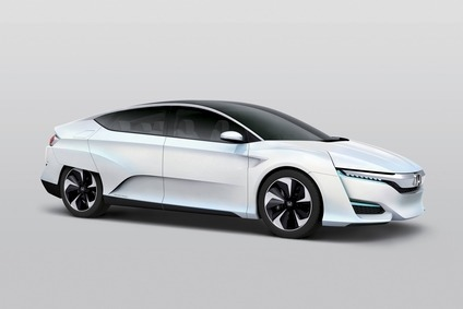 Already shown in Japan, the latest Honda FCV makes its North American debut in Detroit next month