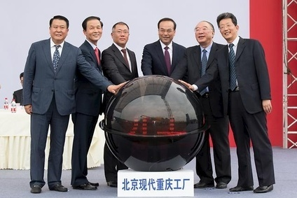 Hyundai Motor broke ground for its fifth Chinese manufacturing plant - in the Liangjiang New Area of Chongqing - at the beginning of the third quarter