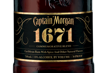 Product Launch - US: Diageos Captain Morgan 1671 Spiced Rum