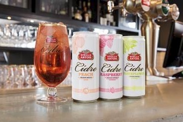 Stella Cidres slim cans are currently only available in the UK
