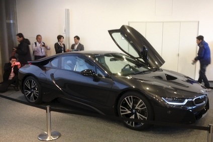 Beautiful BMW i8 hybrid, four-seat, sportscar will be built in Leipzig from April