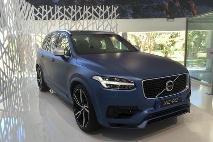 One thing the UK is not getting - at least initially - is the Volvo XC90 in this matt finish