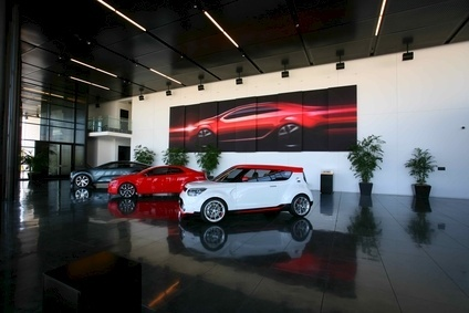 Us kia design center stands alone from parent 39 s for Kia motors irvine ca