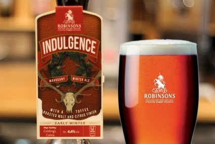 Robinson Brewerys Indulgence winter ale, which has launched this week