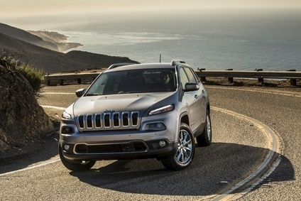 Jeep sales, helped by the new Cherokee, surged 51.6% in April