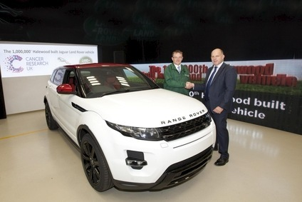 JLRs Halewood plant in England built its millionth Land Rover product  last year - a Range Rover Evoque