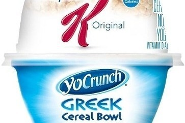 Can the positives of healthy yoghurt outweigh the negatives of a sugary cereal?