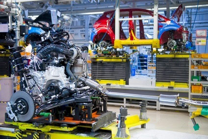 Kias Slovakia Plant Makes Both Engines And Cars   Thats A Venga In The  Background