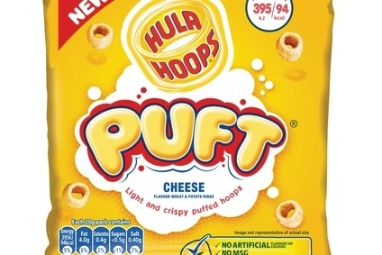 KP Snacks launches Hula Hoops Puft
