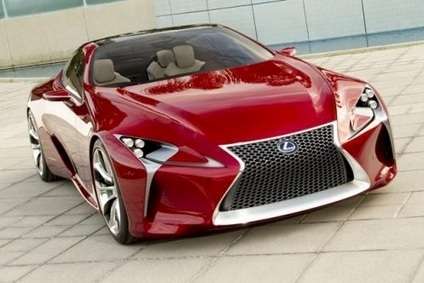 LC should pick up some of the styling details of the LF-LC concept