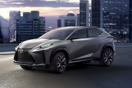 The Lexus LF-NX Concept shown at Tokyo. Bold?