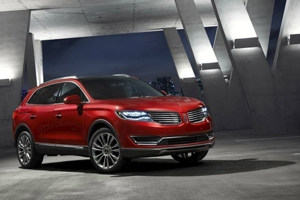 Redesigned 2016 MKX was launched in Detroit