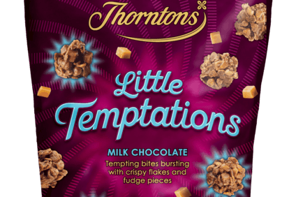 Finsbury launches Thorntons cake bites line