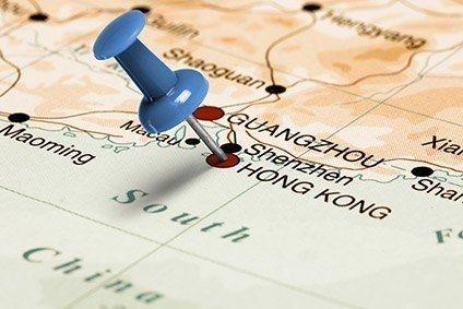 Hong Kong Important Apparel Sourcing Hub For US Apparel - Us to hong kong map