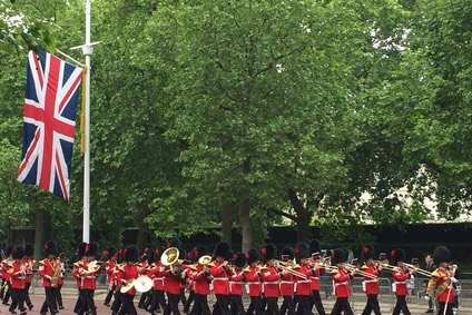 Changing of the guard at Palace and Bosch UK
