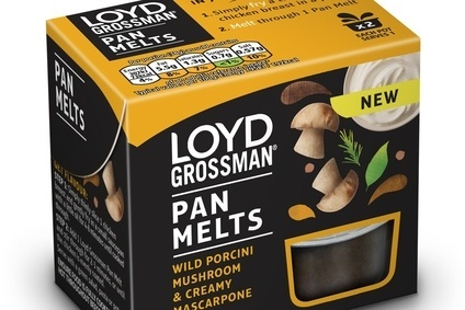 Premier Foods launches Loyd Grossman Pan Melts