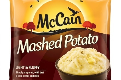 McCain has introduced frozen mash as part of an NPD rollout in the UK