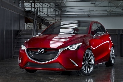 Mazdas Hazumi concept previews the redesigned Demio/2