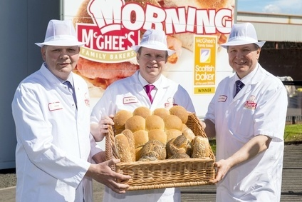 Directors of McGhees Bakery Stuart, Ian and Gordon McGhee