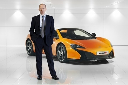 Mike Flewitt, Chief Executive Officer of McLaren Automotive