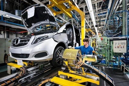 Mercedes Has Started Production Of New V Cl Vito In Spain