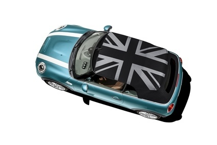 Third Generation Mini Convertible Is Optionally Available With Cl First Union Jack Woven Into The