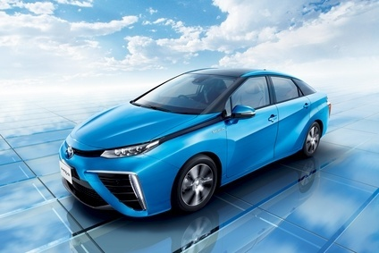After hybrids comes Toyota's fuel cell express