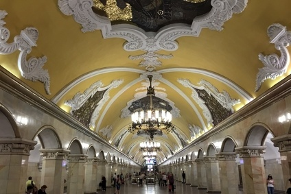 Not your average Metro - Moscow