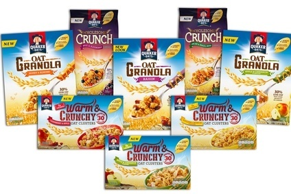 PepsiCo gives Quaker fresh push in granola in UK