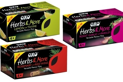 Premier Foods has launched a new range of Oxo herb blends for cooking