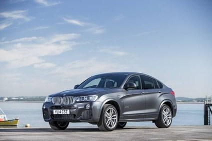 New X4 shares much of its front end with the newly facelifted X3