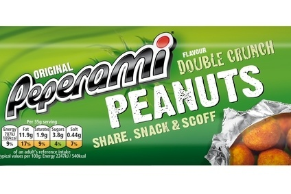 Unilever has launched the new Peperami nuts snacking product