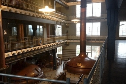 The New Carlsberg Brewery was buily in 1901 and closed in 2008