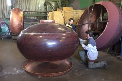 Chalvignac has been making copper pot stills since 1981