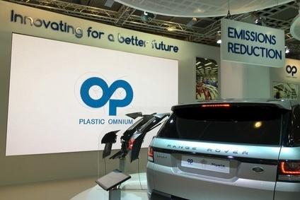 Plastic omnium puts blue water between it and vw for Plastic omnium auto exterieur ruitz